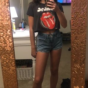 Cropped Rolling Stones H&M T-shirt